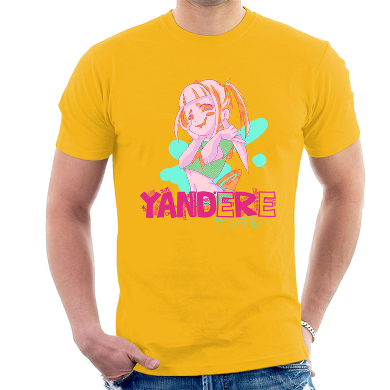 999dc1fb787 ... Yandere Anime Girl Men s T-Shirt by PsychoDelicia - Cloud City 7