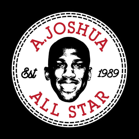 Anthony Joshua Face All Star Converse Logo