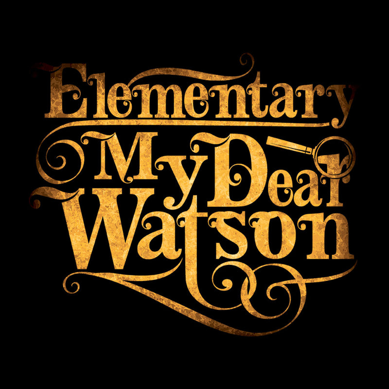 Elementary My Dear Watson Sherlock Holmes Quote Men's Vest by Create Or Destroy - Cloud City 7