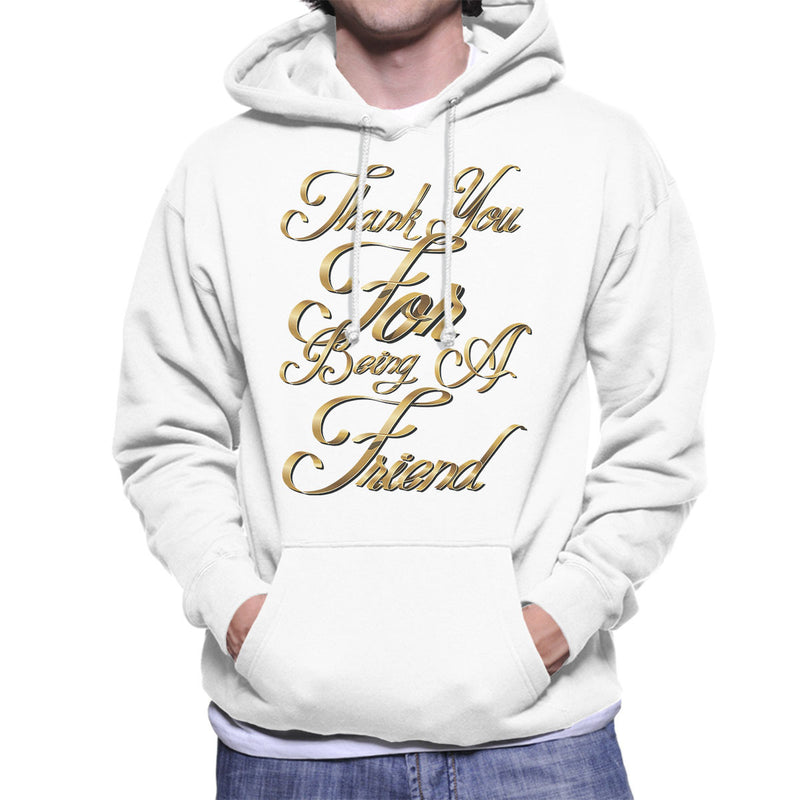 Thank You For Being A Friend Golden Girls Men's Hooded Sweatshirt by Create Or Destroy - Cloud City 7