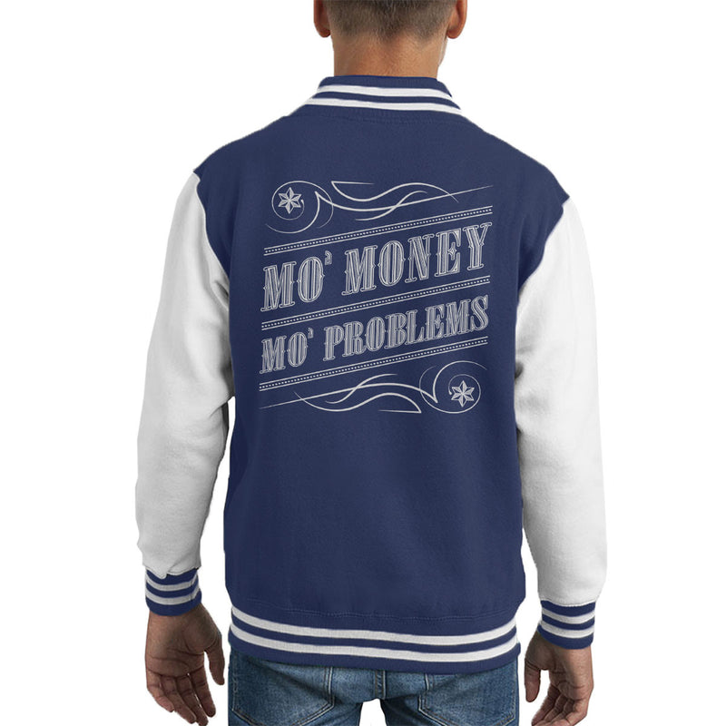 Mo Money Mo Problems Notorious BIG Biggie Smalls Kid's Varsity Jacket by Create Or Destroy - Cloud City 7