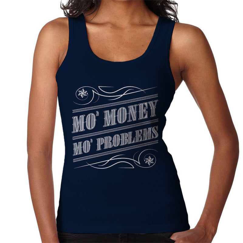 Mo Money Mo Problems Notorious BIG Biggie Smalls Women's Vest by Create Or Destroy - Cloud City 7