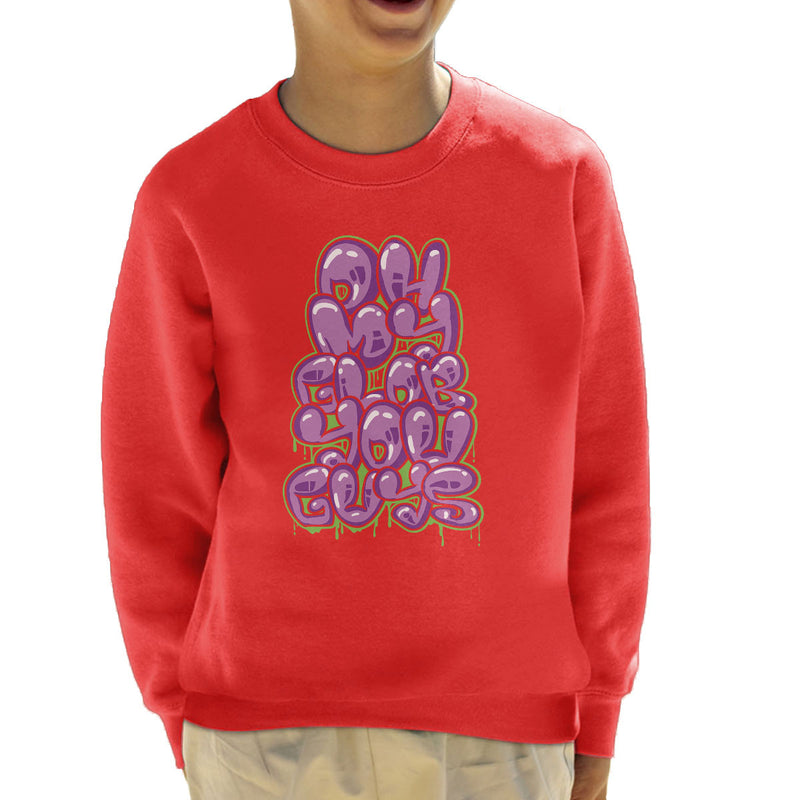 Oh My Glob You Guys Adventure Time Kid's Sweatshirt by Create Or Destroy - Cloud City 7
