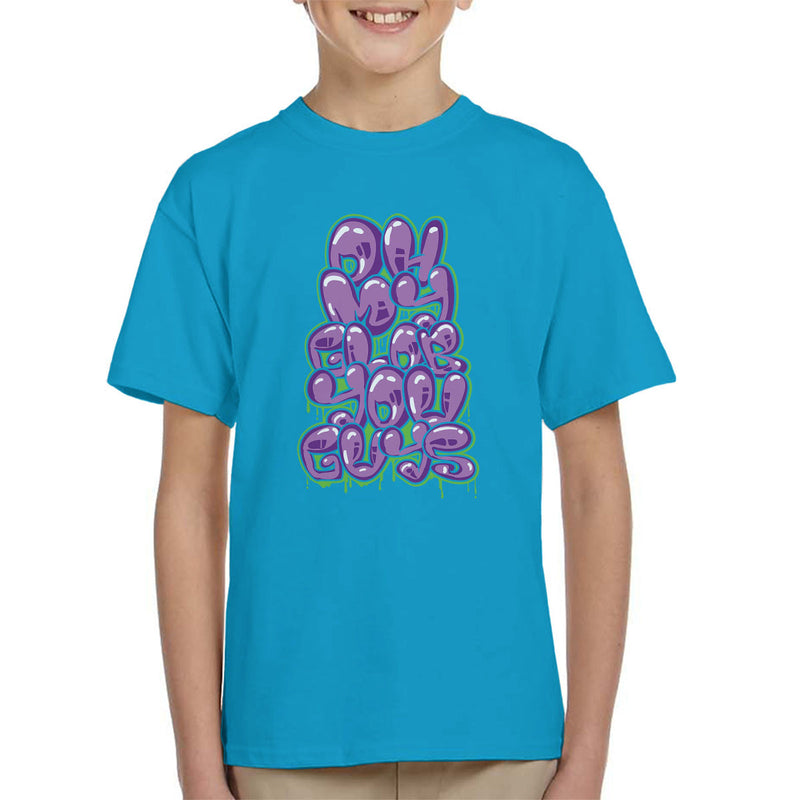 Oh My Glob You Guys Adventure Time Kid's T-Shirt by Create Or Destroy - Cloud City 7