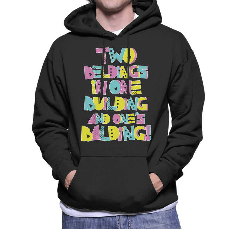 Two Beldings Saved By The Bell Men's Hooded Sweatshirt by Create Or Destroy - Cloud City 7