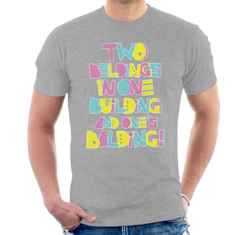 Two Beldings Saved By The Bell Men's T-Shirt by Create Or Destroy - Cloud City 7