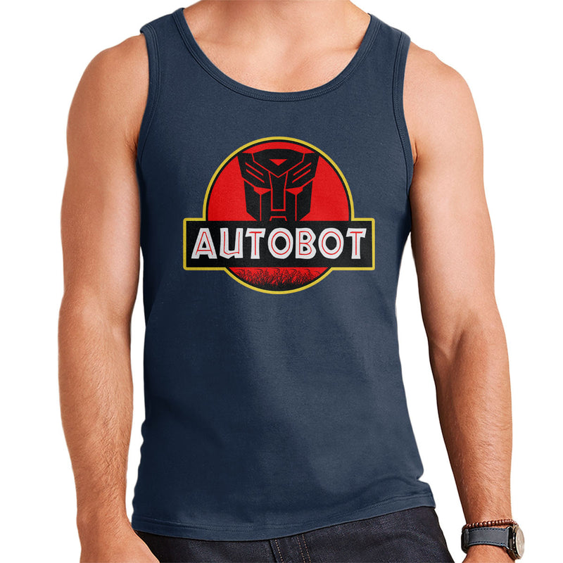 Jurassic Transformers Autobot Optimus Prime Men's Vest by Nova5 - Cloud City 7