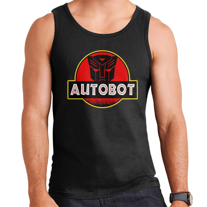 Jurassic Transformers Autobot Optimus Prime Men's Vest