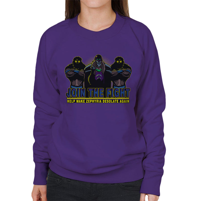 Join Vulchazor Son Of Zorn Women's Sweatshirt by AndreusD - Cloud City 7