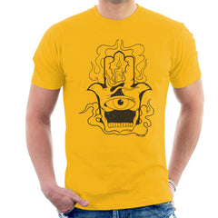 Hamsa Candle Tattoo Men's T-Shirt