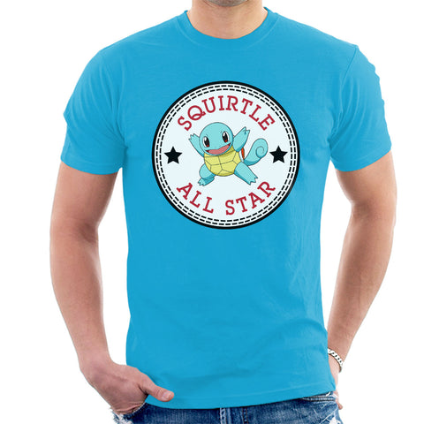 Squirtle Pokemon All Star Converse Logo