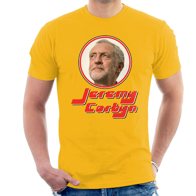 Jeremy Corbyn Retro Frame Men's T-Shirt