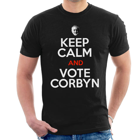 Keep Calm And Vote Jeremy Corbyn Men