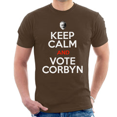 Keep Calm And Vote Jeremy Corbyn Men's T-Shirt