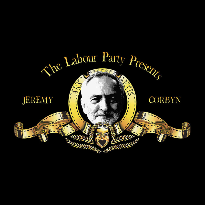 Jeremy Corbyn MGM Lion Logo Men's T-Shirt