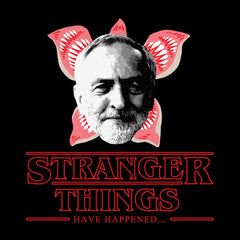 Jeremy Corbyn Stranger Things Have Happened Men's T-Shirt
