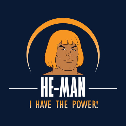 He Man Face I Have The Power Masters Of The Universe