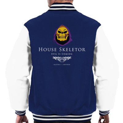 House Skeletor Evil Is Coming He Man Masters Of The Universe Men's Varsity  Jacket