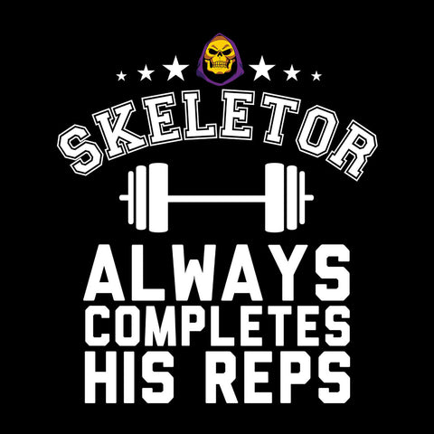 Skeletor Always Completes His Reps He Man Masters Of The Universe