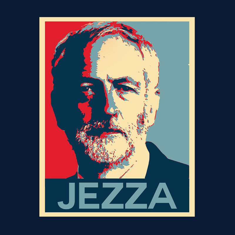 Jezza Jeremy Corbyn Hope Men's T-Shirt