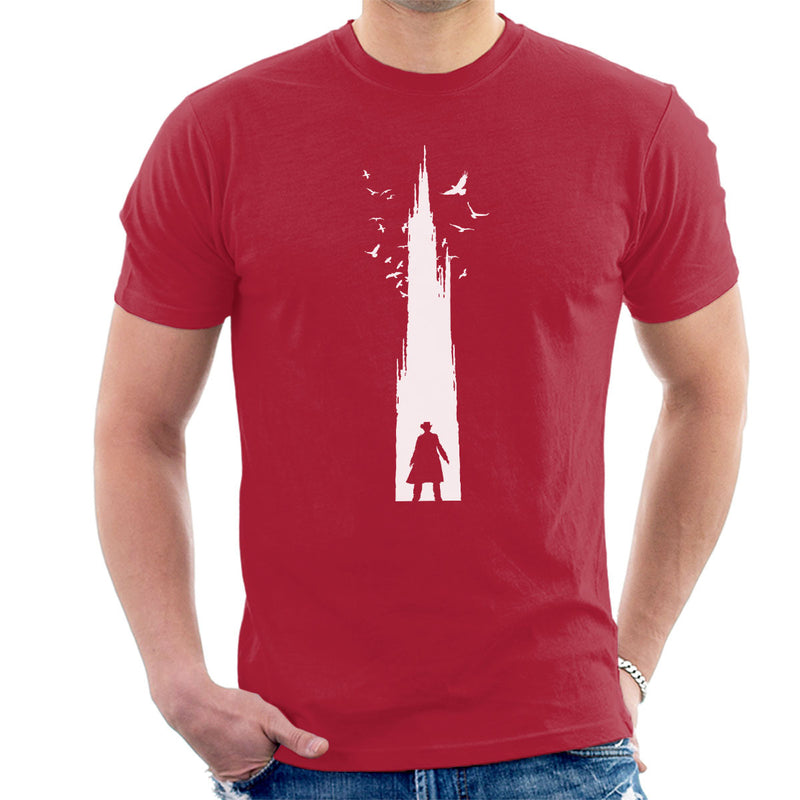 The Dark Tower Gunslinger Silhouette Men's T-Shirt