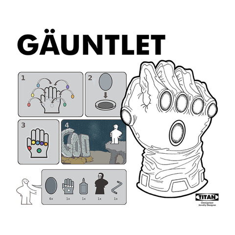 Omnipotent Instructions Infinity Gauntlet Ikea
