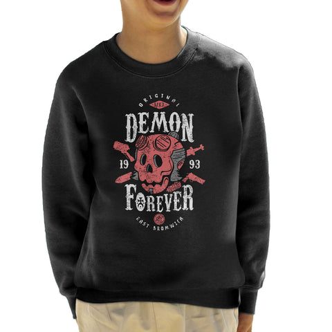 Demon Forever Hell Boy Kid's Sweatshirt