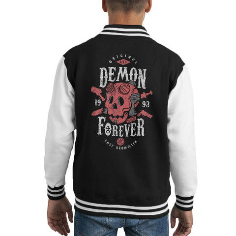 Demon Forever Hell Boy Kid's Varsity Jacket