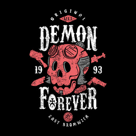 Demon Forever Hell Boy