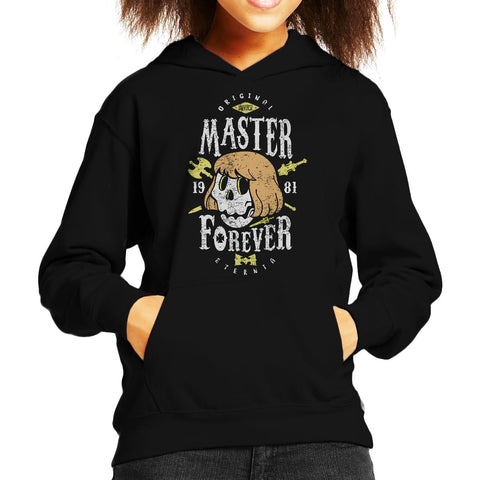 Master Forever He Man Masters Of The Universe Kid's Hooded Sweatshirt