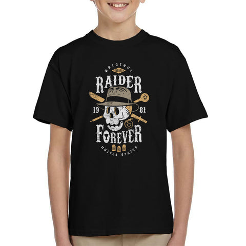 Raider Forever Indiana Jones Kid's T-Shirt