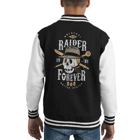 Raider Forever Indiana Jones Kid's Varsity Jacket