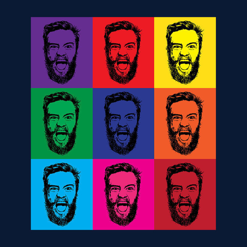 andy warhol pop art conor mcgregor cloud city 7. Black Bedroom Furniture Sets. Home Design Ideas