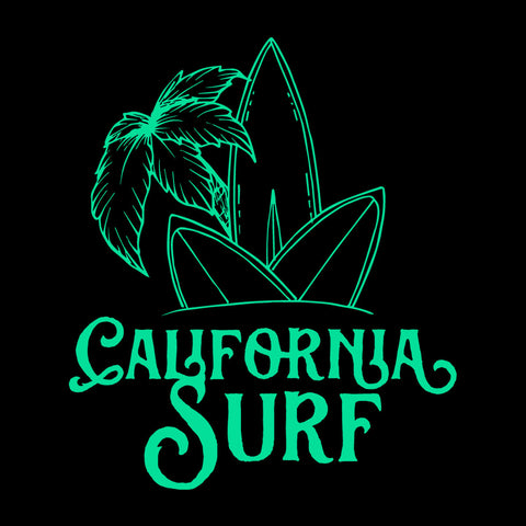 California Surf surfboards On Island
