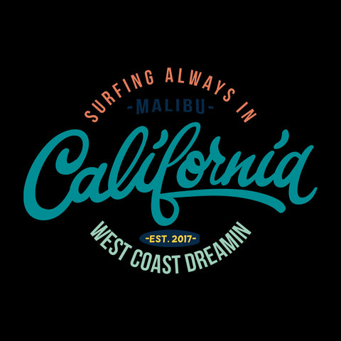 California Surf West Coast Dreamin