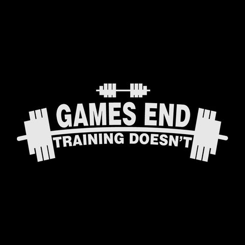 Games End Training doesnt