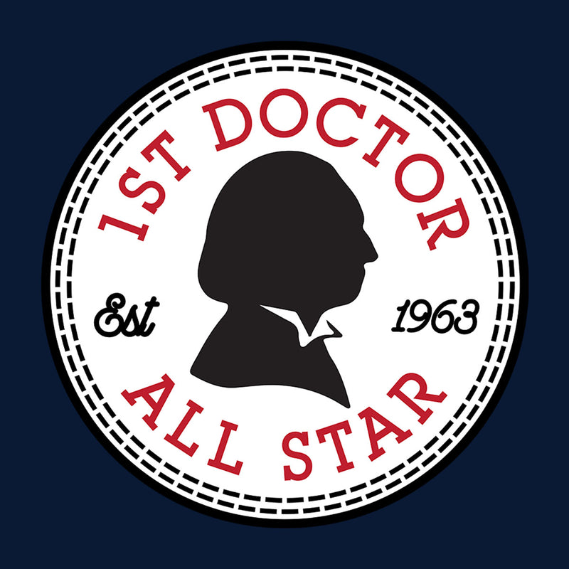 d8fbd16fe004fc ... Converse All Star First Doctor Who Men s Baseball Long Sleeved T-Shirt  by Spudhead ...