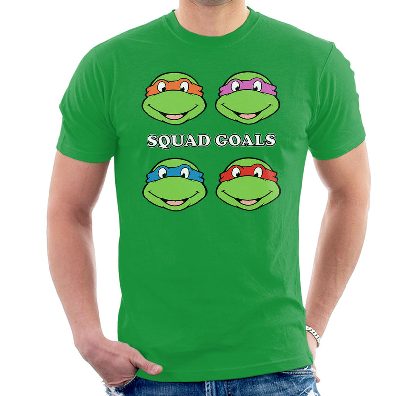 Teenage Mutant Ninja Turtles Squad Goals Men's T-Shirt