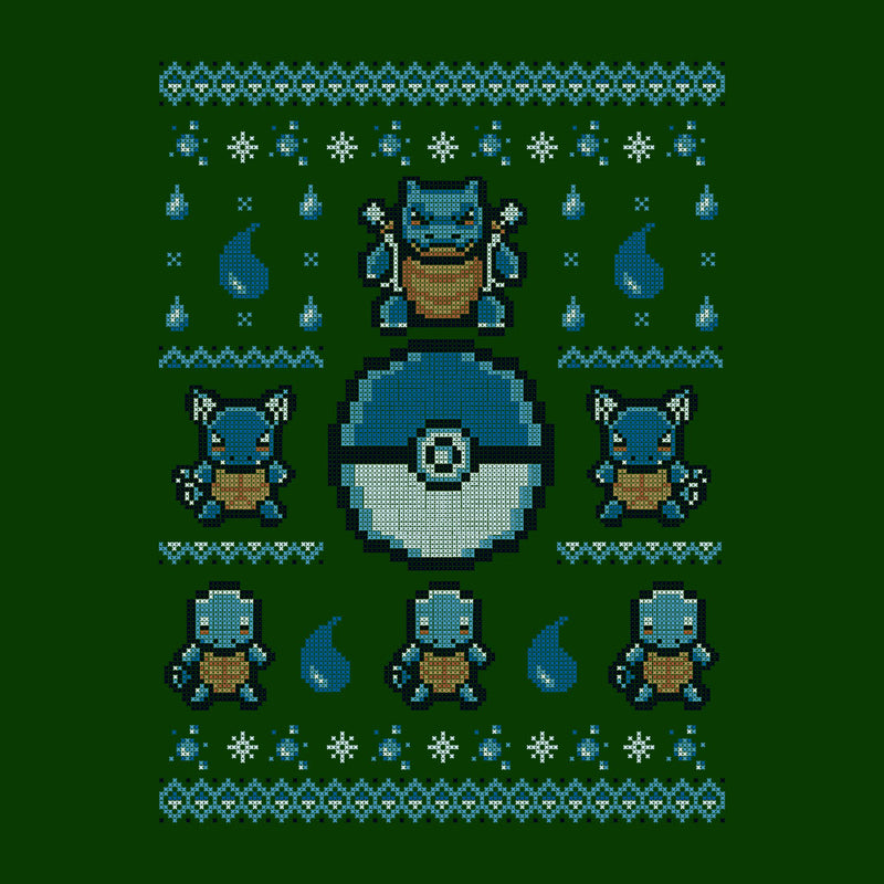 gotta stitch them all water christmas knit pokemon cloud city 7