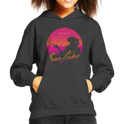 3 2 1 Lets Jam Cowboy Bebop Kid's Hooded Sweatshirt by ddjvigo - Cloud City 7