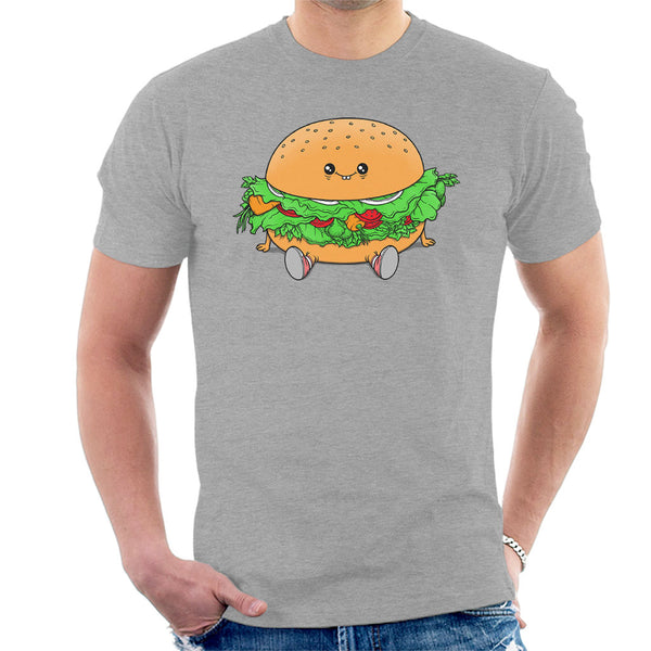 Veggie Burger Men's T-Shirt