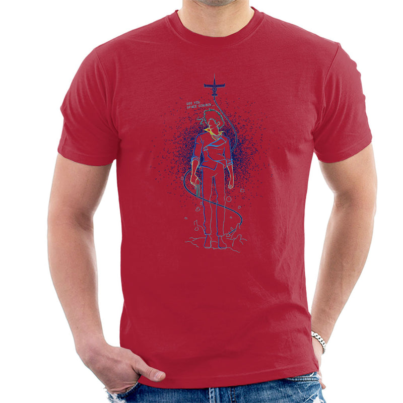 Shadow Of Space Cowboy Bebop Men's T-Shirt by Donnie - Cloud City 7