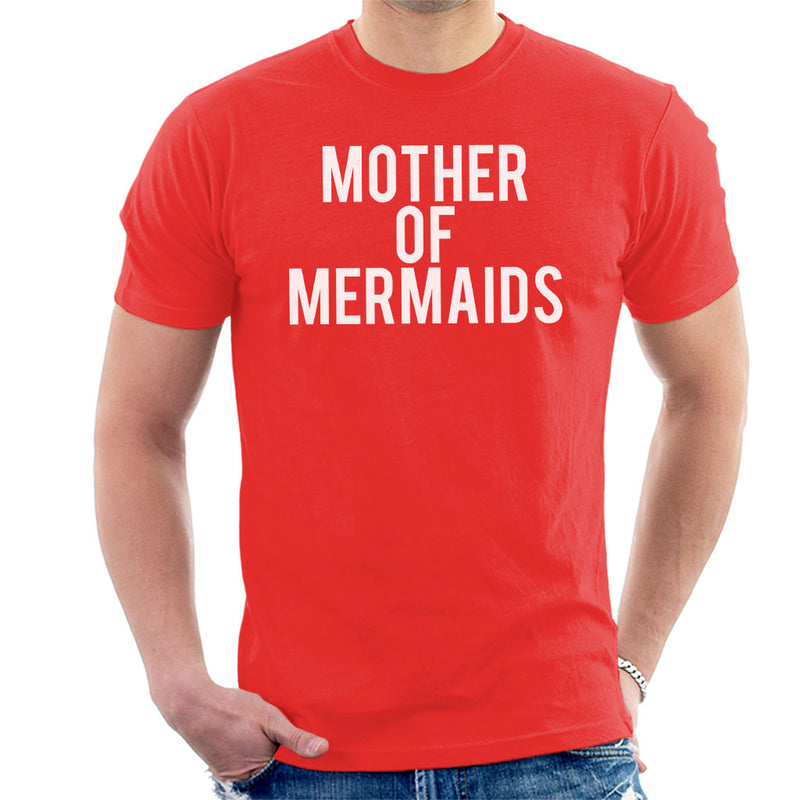 Mother Of Mermaids Men's T-Shirt by Spudhead - Cloud City 7