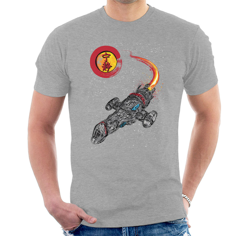 Serenity Firefly A Leaf On The Wind Men's T-Shirt by Dr.Monekers - Cloud City 7