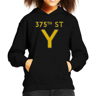 375th Street Y Royal Tenenbaums Kid's Hooded Sweatshirt by yipptee - Cloud City 7