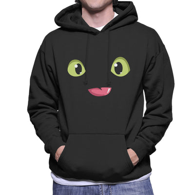 Toothless Eyes Tongue How To Train Your Dragon Men's Hooded Sweatshirt by yipptee - Cloud City 7