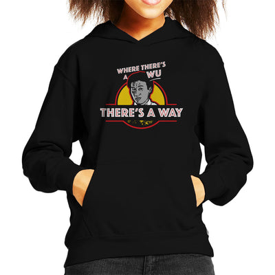 Where Theres A Wu Theres A Way Jurassic Park Kid's Hooded Sweatshirt by yipptee - Cloud City 7