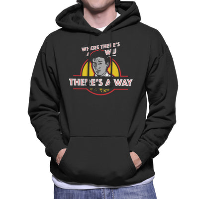 Where Theres A Wu Theres A Way Jurassic Park Men's Hooded Sweatshirt by yipptee - Cloud City 7