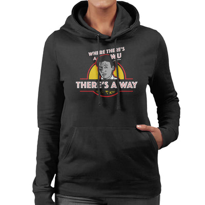 Where Theres A Wu Theres A Way Jurassic Park Women's Hooded Sweatshirt by yipptee - Cloud City 7