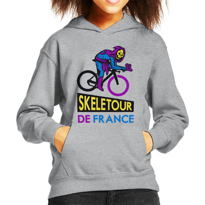 Skeletour De France Masters Of The Universe Skeletor Kid's Hooded Sweatshirt by yipptee - Cloud City 7
